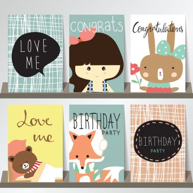 collection for greeting cards