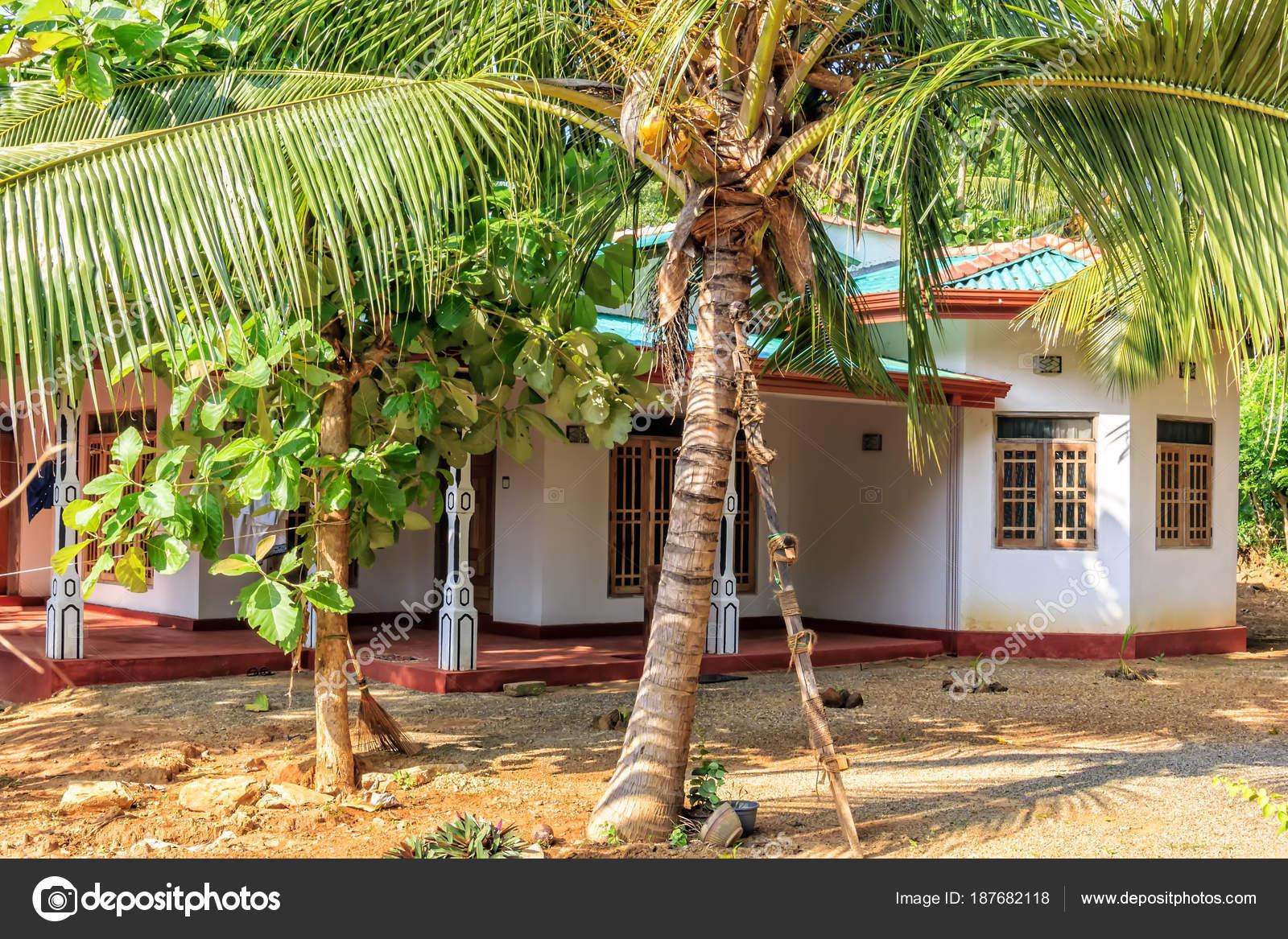 Sigiriya Sri Lanka January 2018 Traditional Rural House
