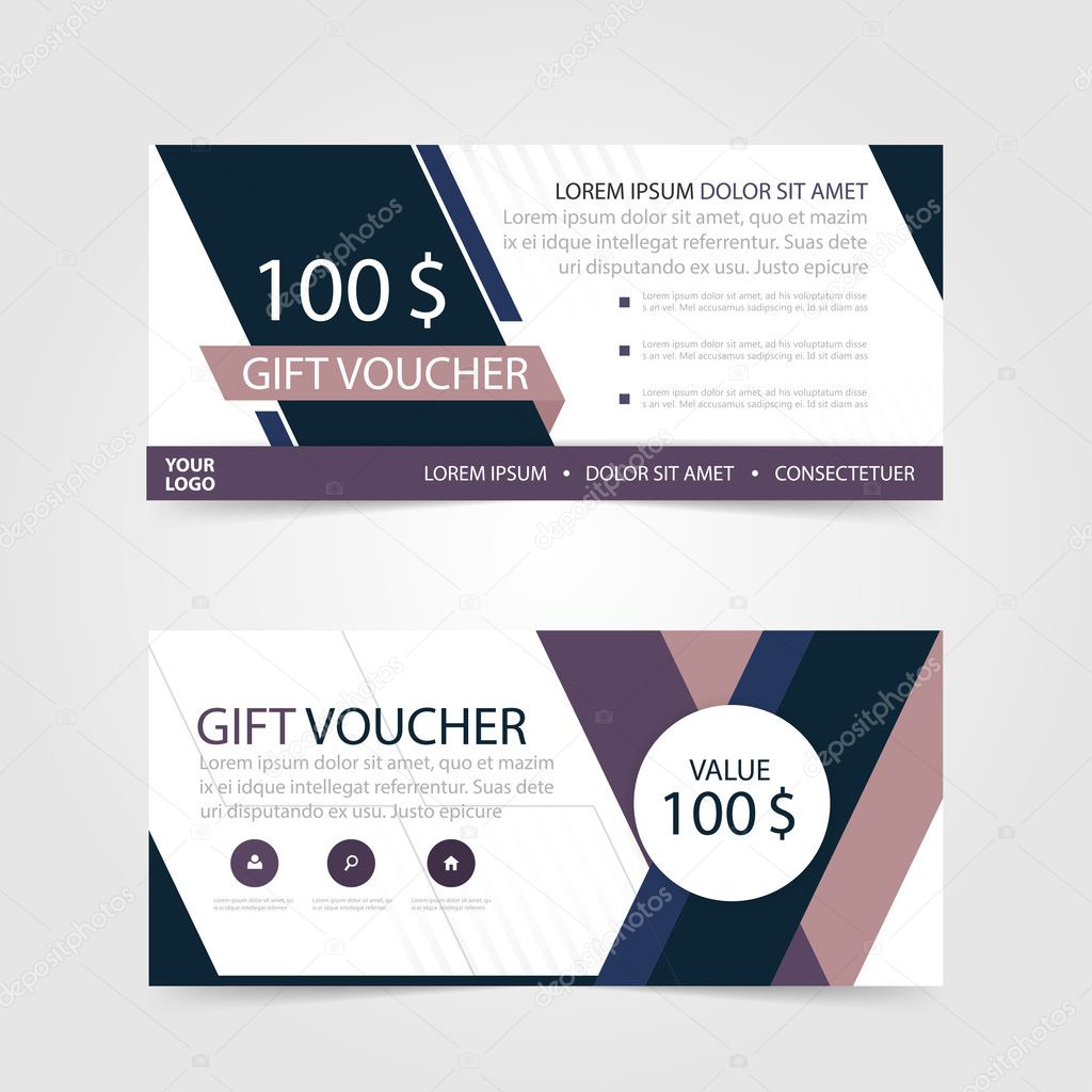 Purple gift voucher template with colorful patterncute gift purple gift voucher template with colorful patterncute gift voucher certificate coupon design templatecollection gift certificate business card banner magicingreecefo Image collections