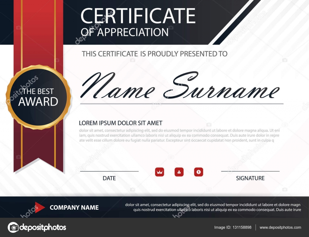 Red black elegance horizontal certificate with vector illustration red black elegance horizontal certificate with vector illustration white frame certificate template with clean and yadclub Image collections
