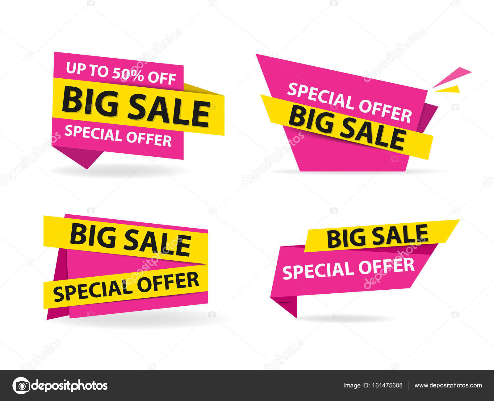 colorful shopping sale flyer poster brochure template discount sale