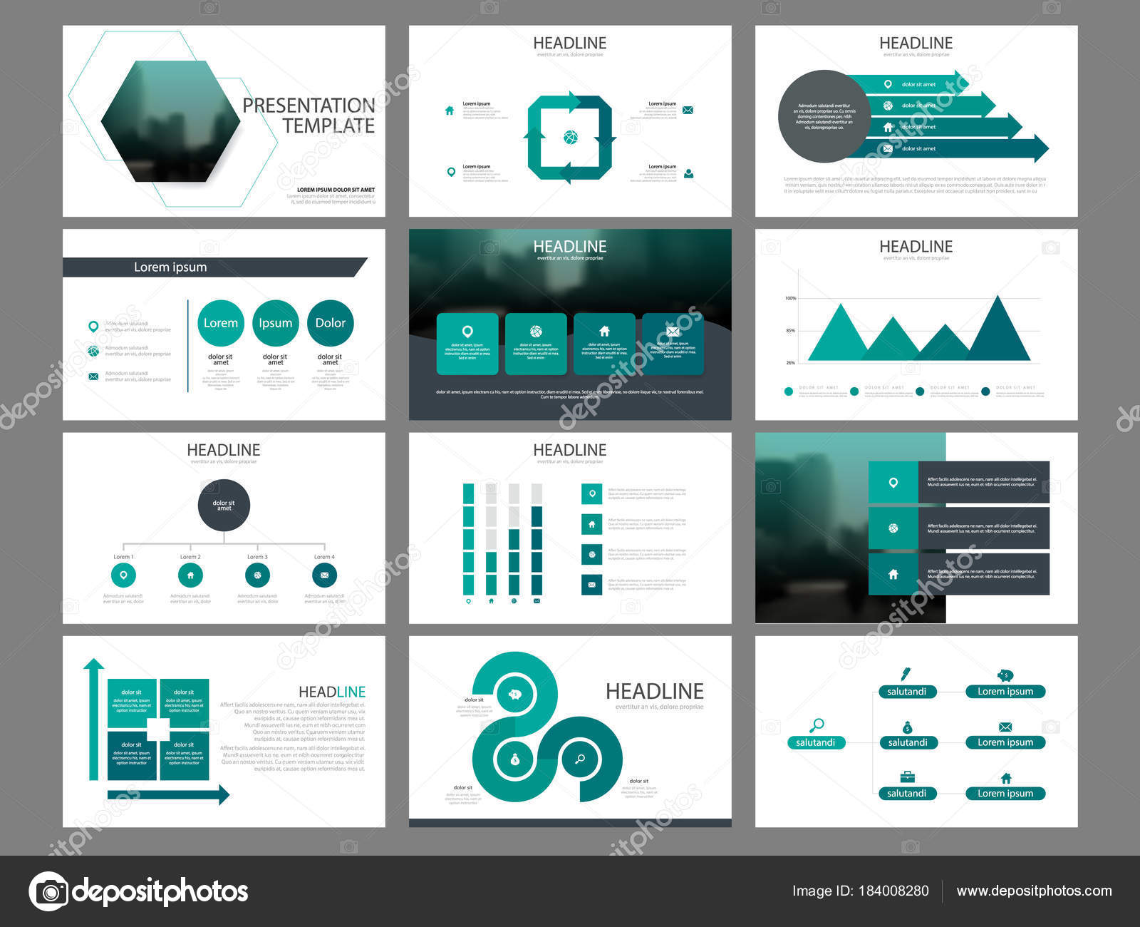 Bundle infographic elements presentation template business annual bundle infographic elements presentation template business annual report brochure leaflet stock vector accmission Image collections