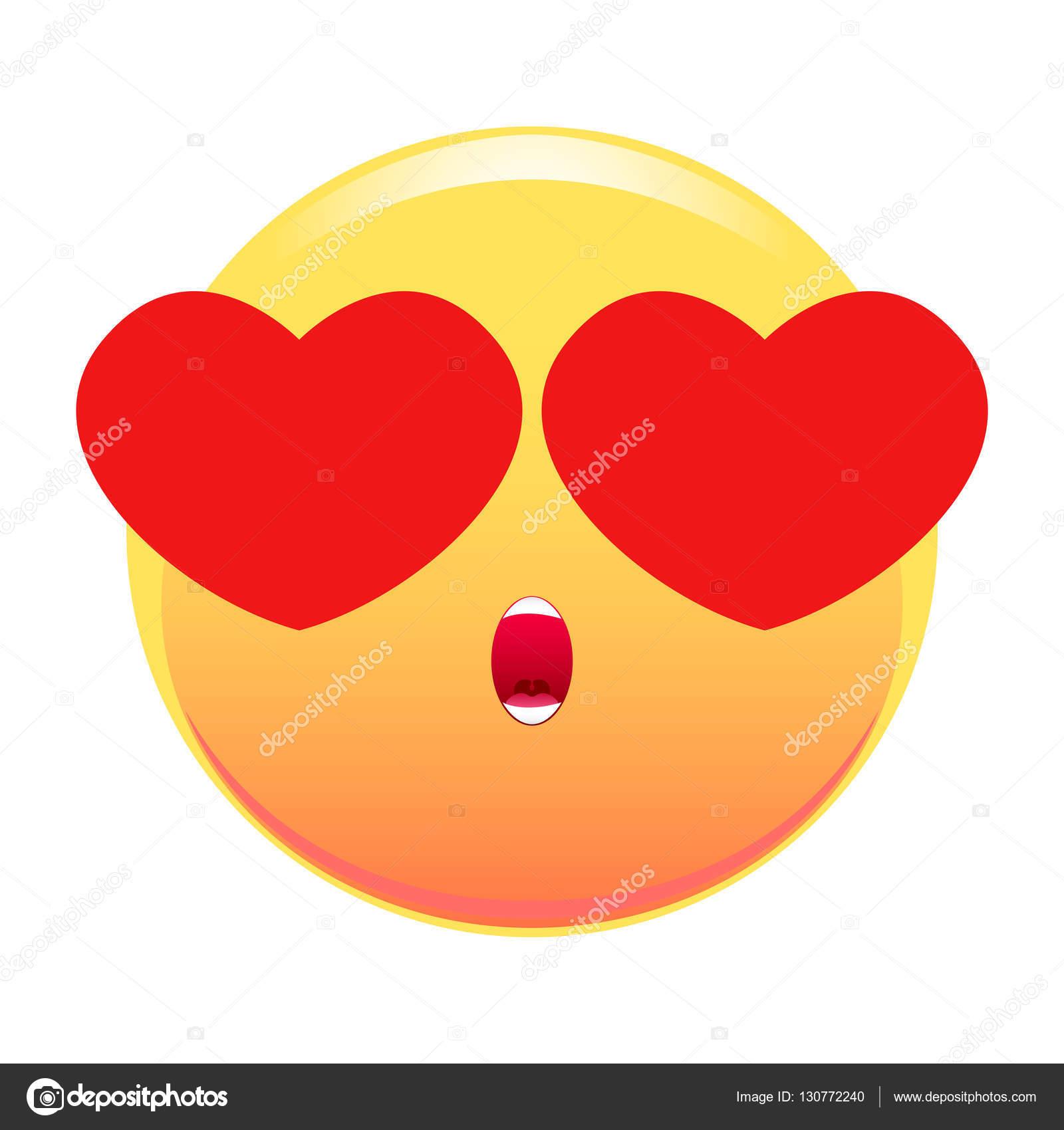 imágenes carita enamorada carita sonriente con ojos corazones