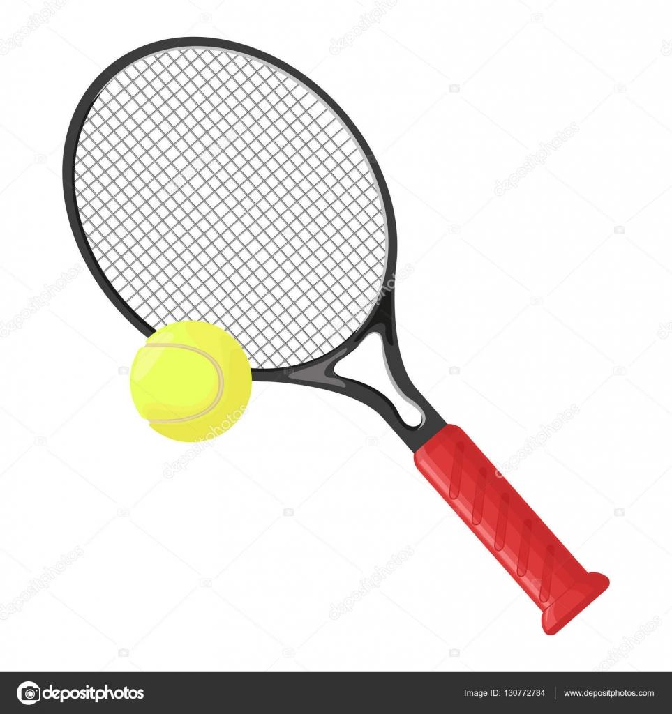 Tenis pelota stock de ilustracion ilustracion libre de stock de - Raqueta De Tenis Y Pelota De Tenis Aislado Sobre Fondo Blanco Ilustraci N De Vector De
