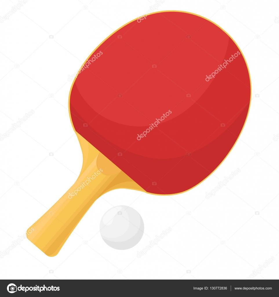 1cfb71283 Raquetes de tênis de mesa isolado no fundo branco. Bola para o jogo de  pingue-pongue. Ilustração vetorial — Vetor de nadiia.kud.gmail.com