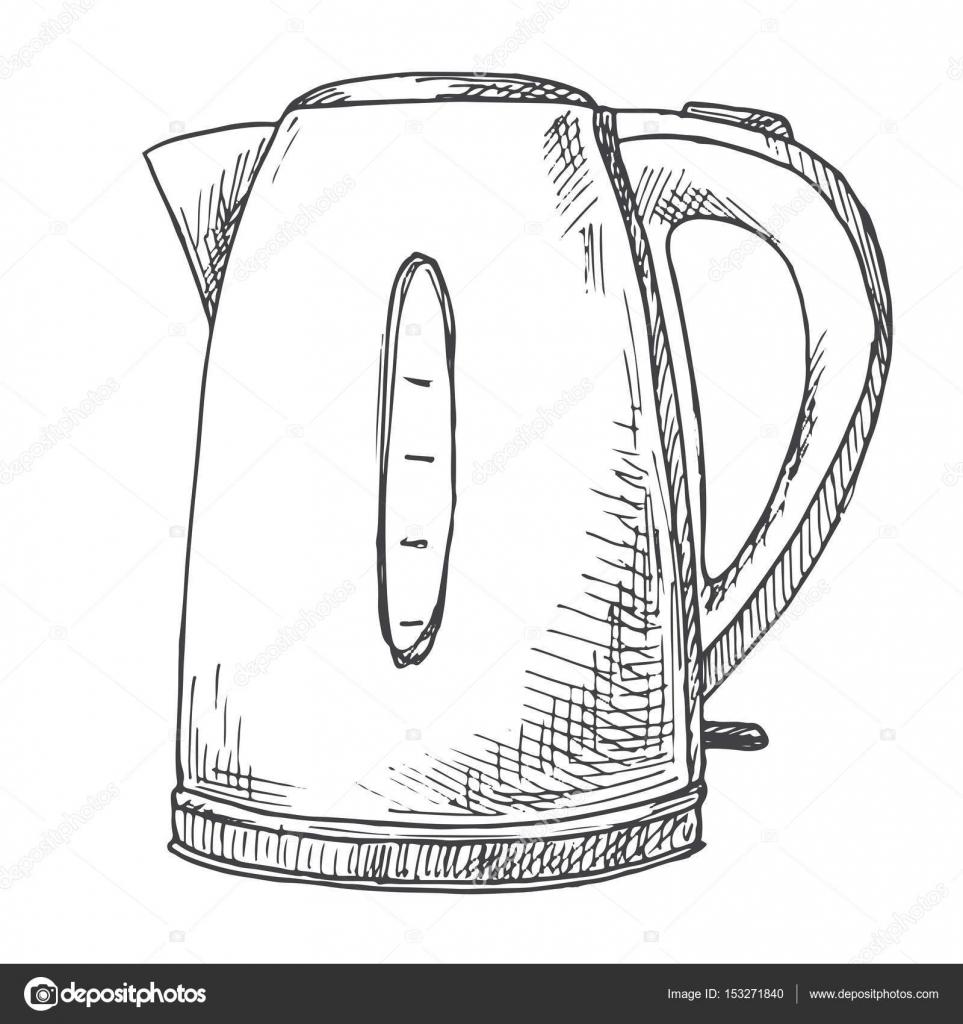 покупки картинка электрический чайник раскраска прошлом году это