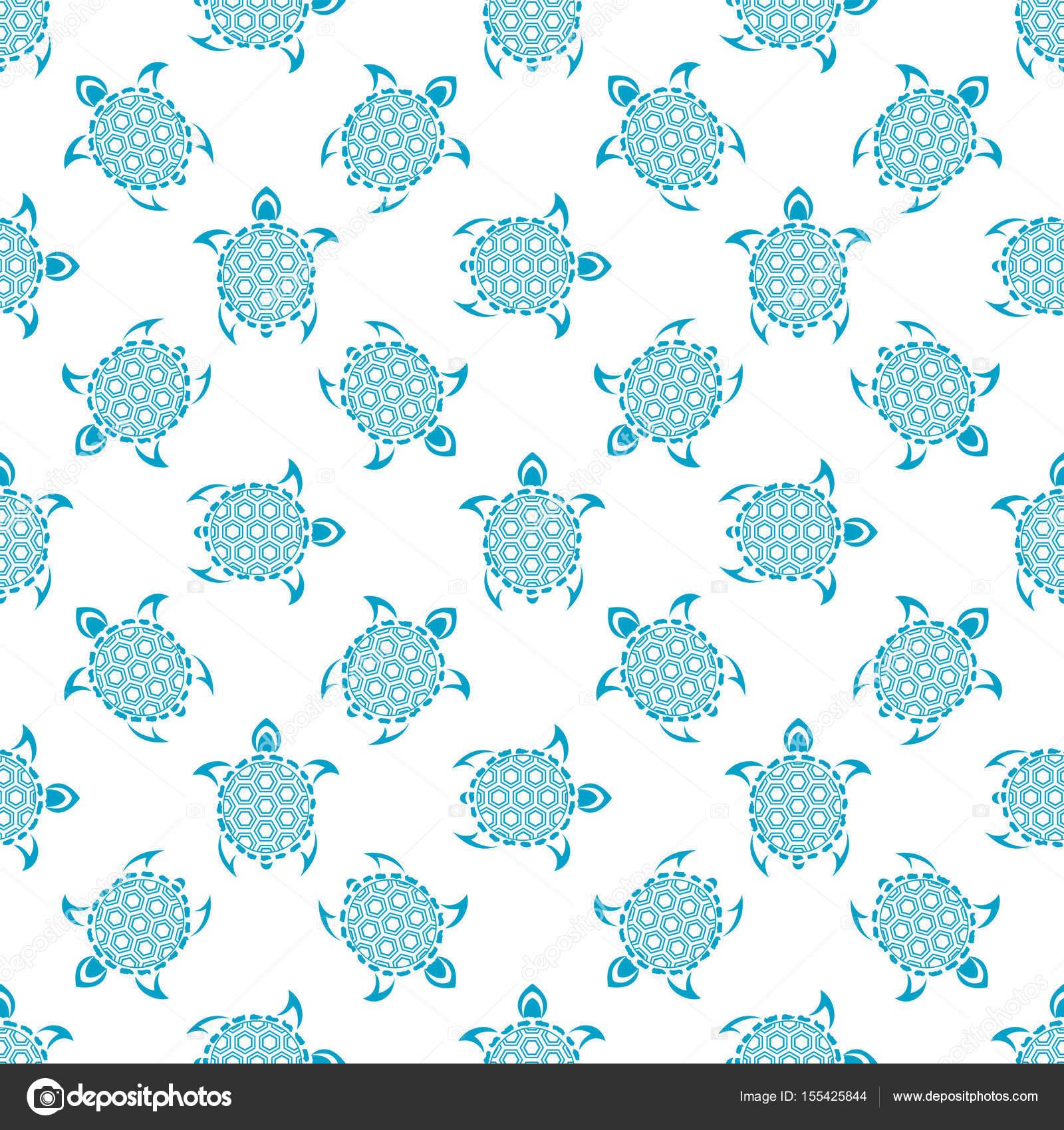 Fondo: patrón de pan | Patrón con las tortugas. De patrones sin ...