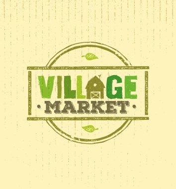 inscription of village market