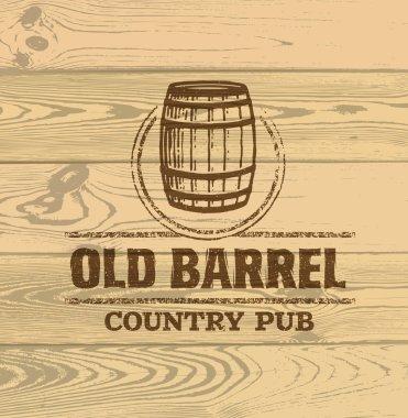 creative inscription of Old Barrel