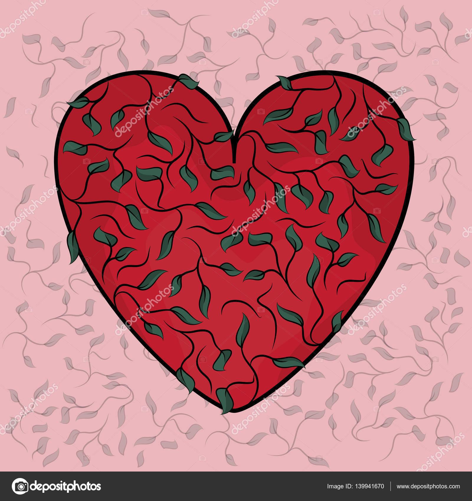 edf5d59e54fda3 Dia dos namorados coração. Planos de fundo coração decorativo ...