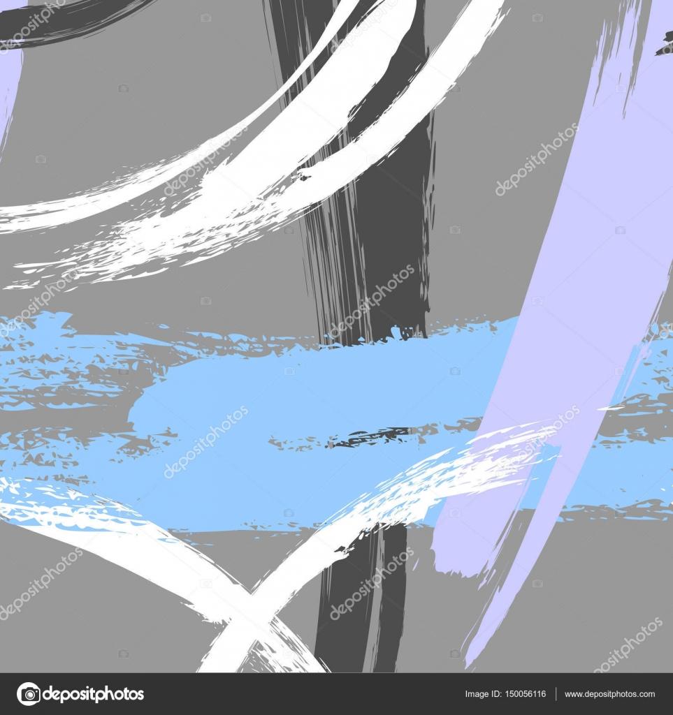 Vektor zeitgenössische geometrische Hand gezeichnete Dreieck Textur ...