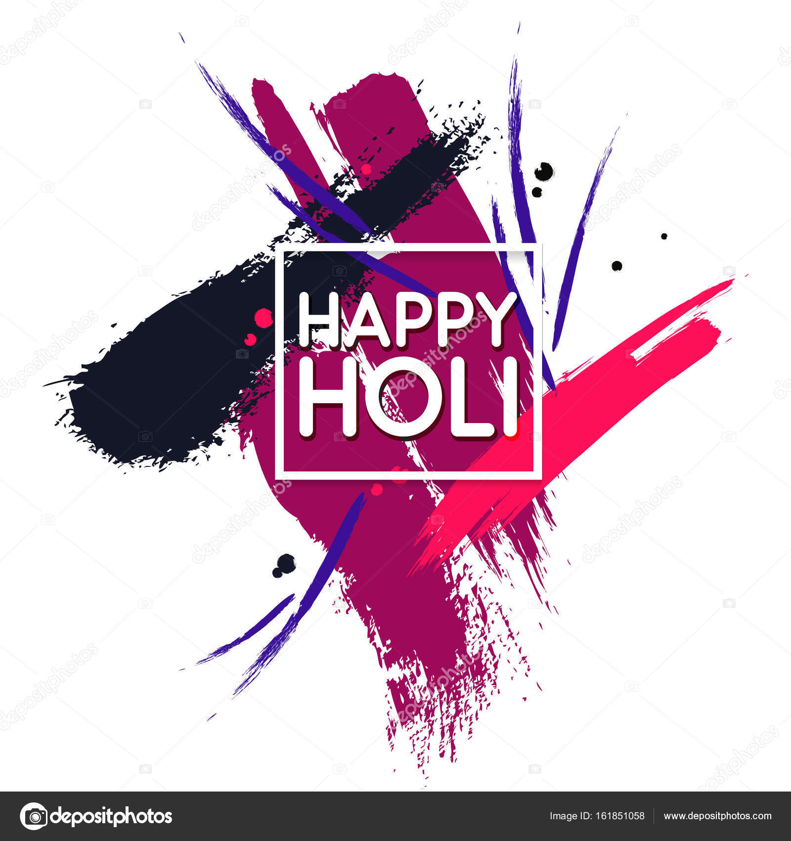 Vector Indian Colors Festival Abstract Decoration Design For Banner Print Poster And Card