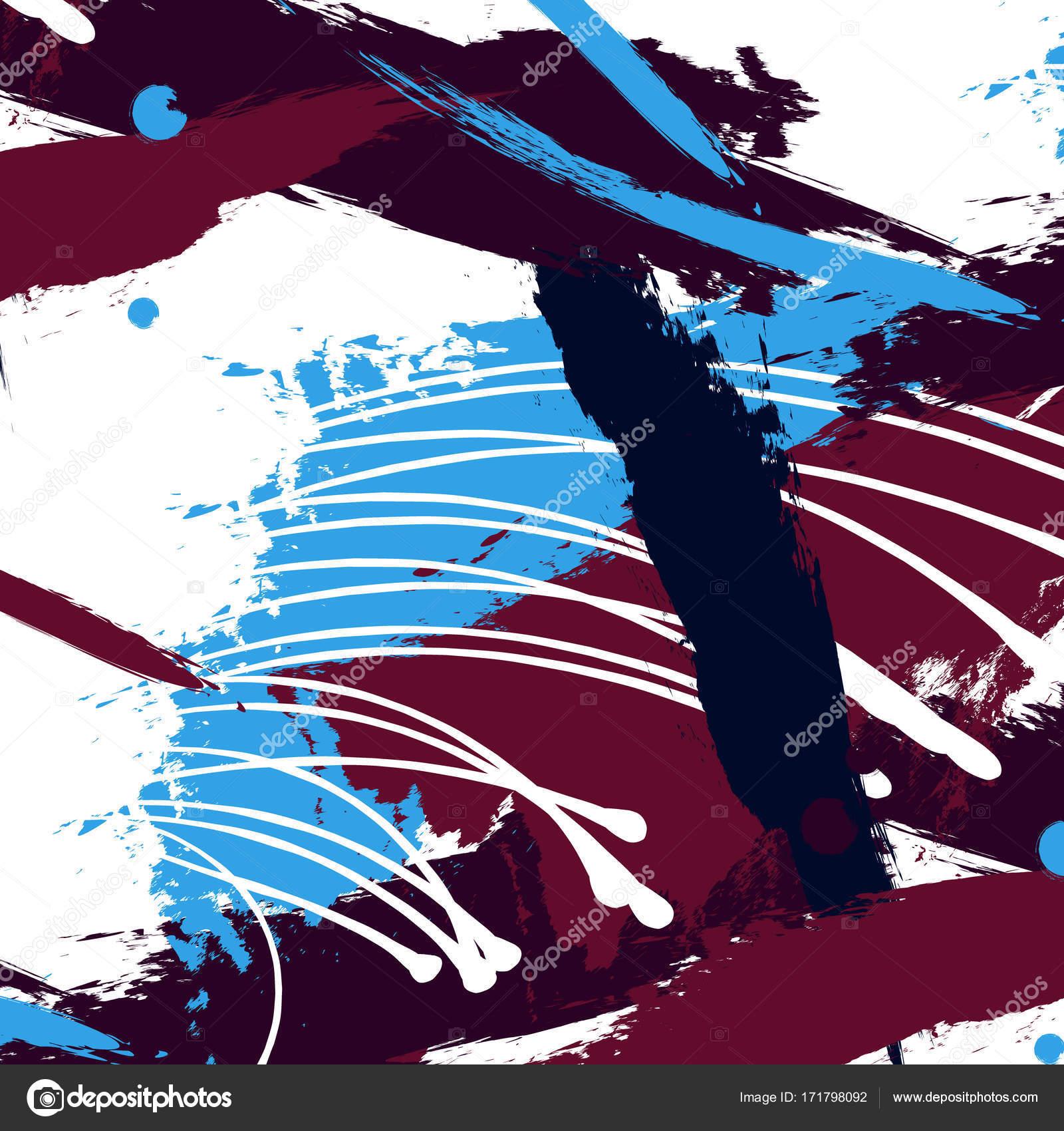 Künstlerisch kreative zeitgenössische universelles Muster. Hand ...