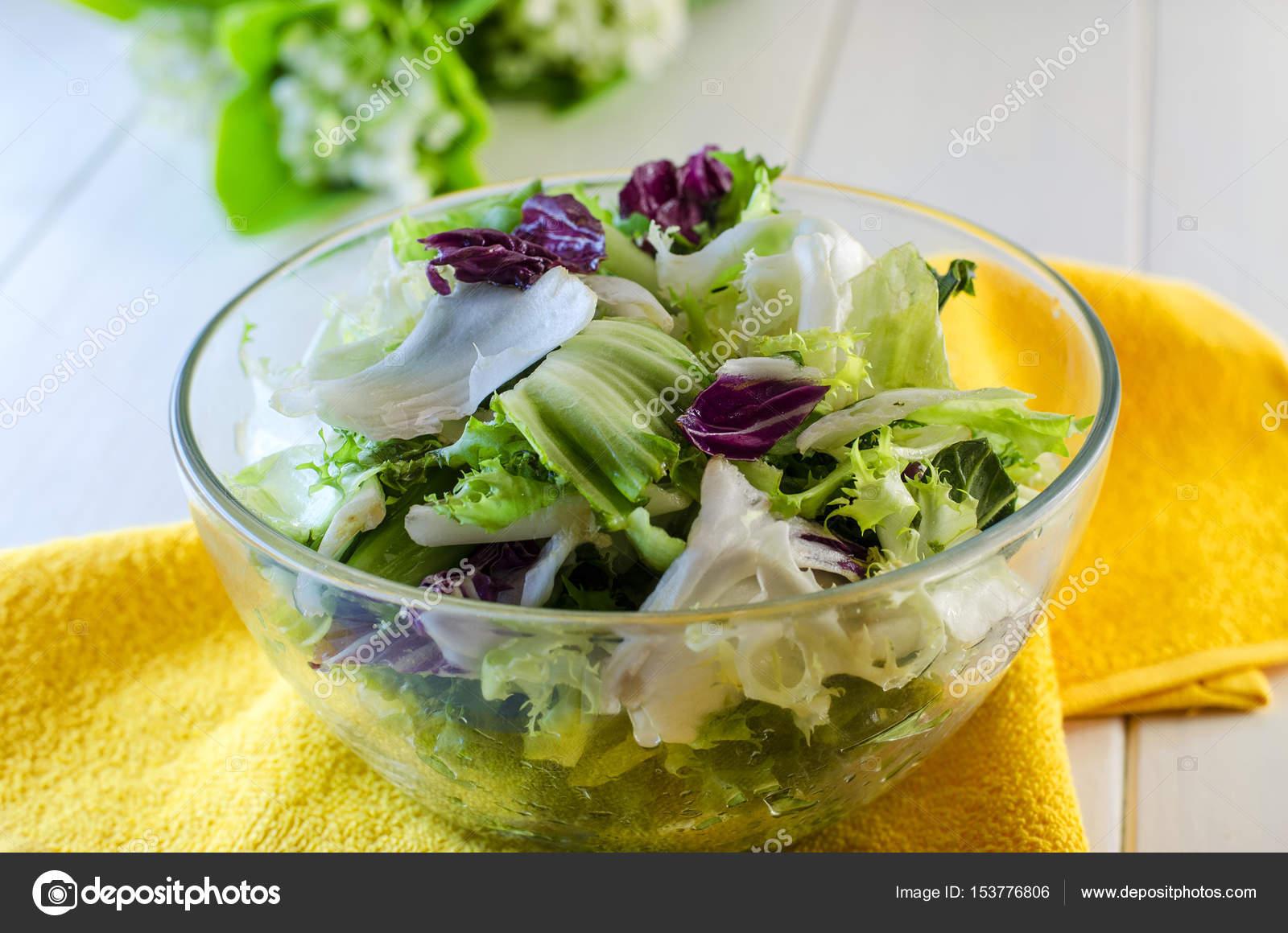 salade verte diététique — photographie katerina3 © #153776806