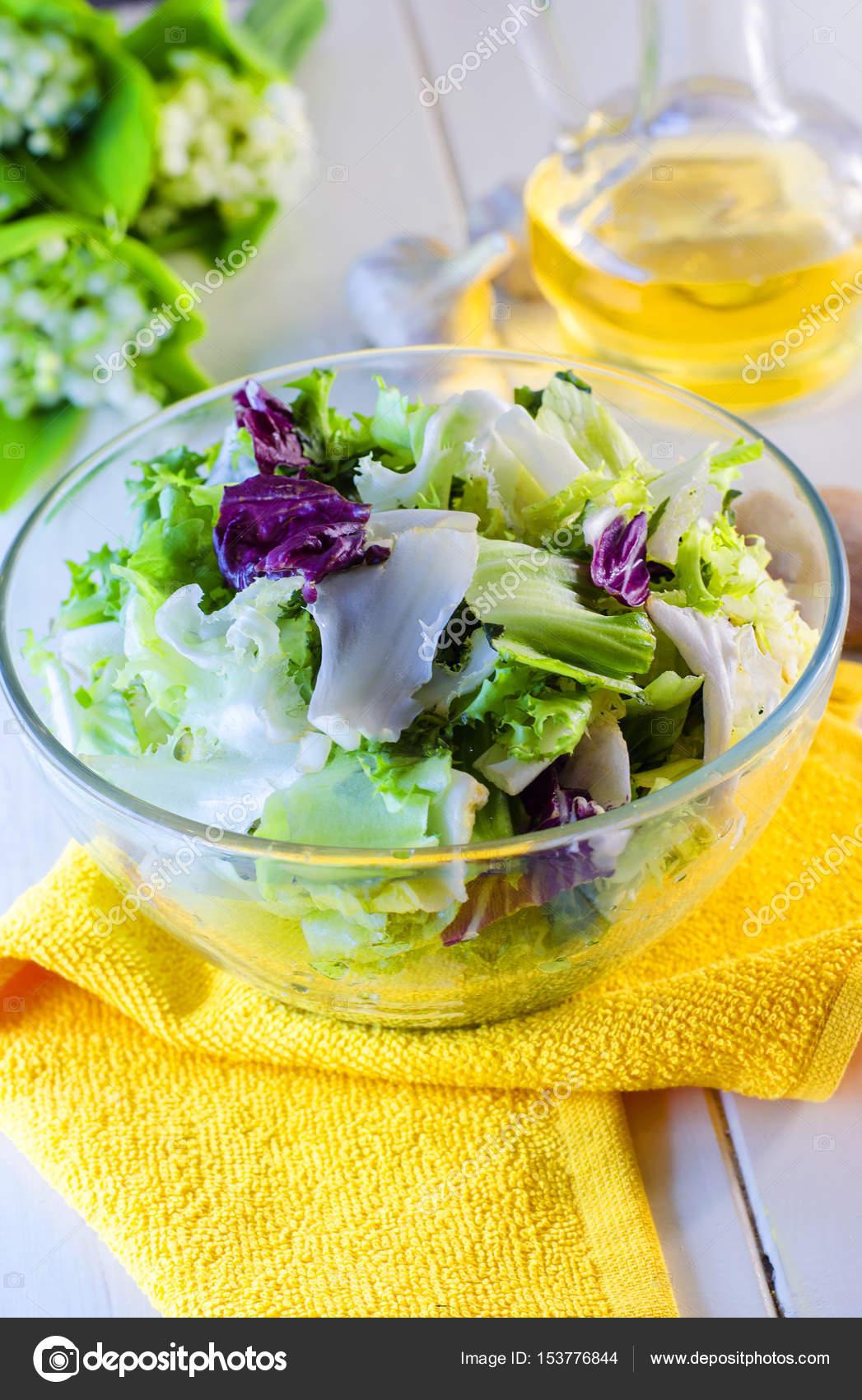 salade verte diététique — photographie katerina3 © #153776844