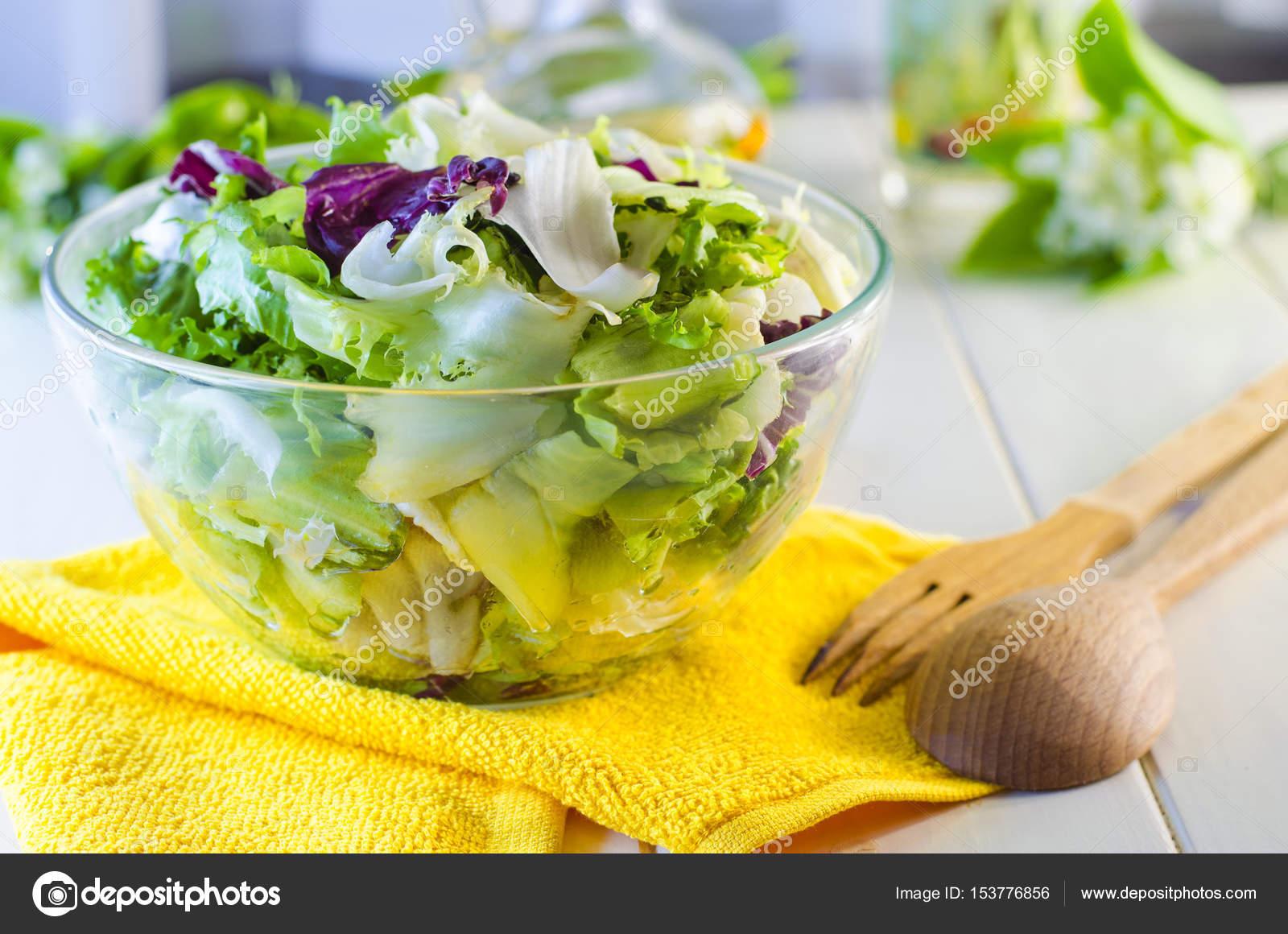 salade verte diététique — photographie katerina3 © #153776856
