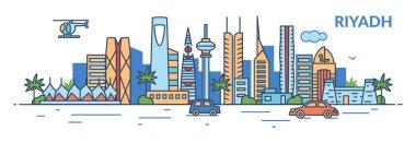 Riyadh city skyline