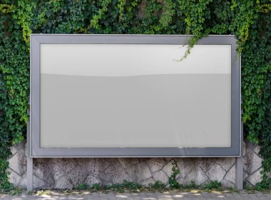 ad Blank outdoor