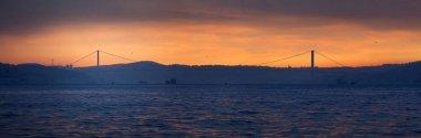 Bosphorus bridge at dawn
