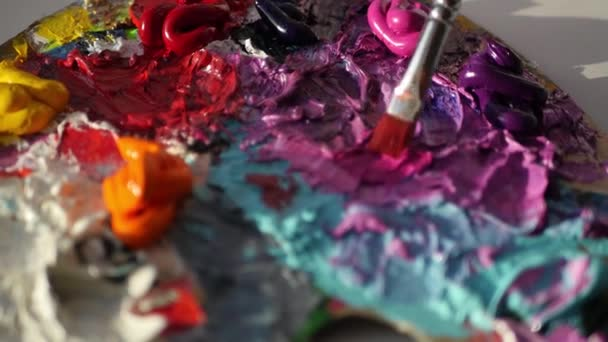 farbe lila mischen