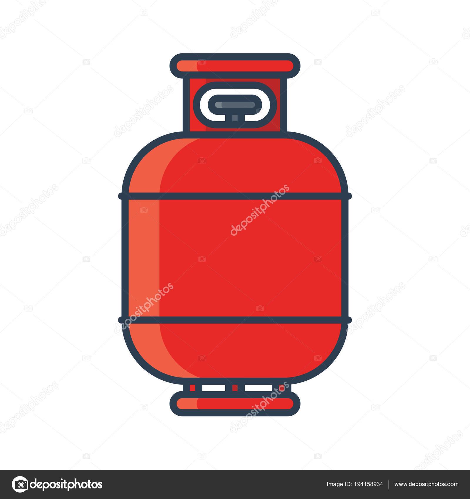 Cone do tanque de g s inflam vel propano butano tanque for Tanque de gas butano