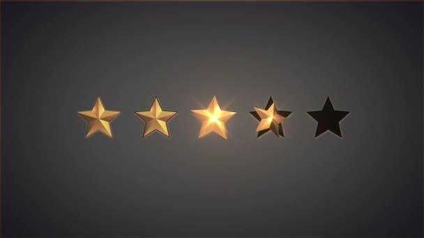Osztályzat csillagok gombok