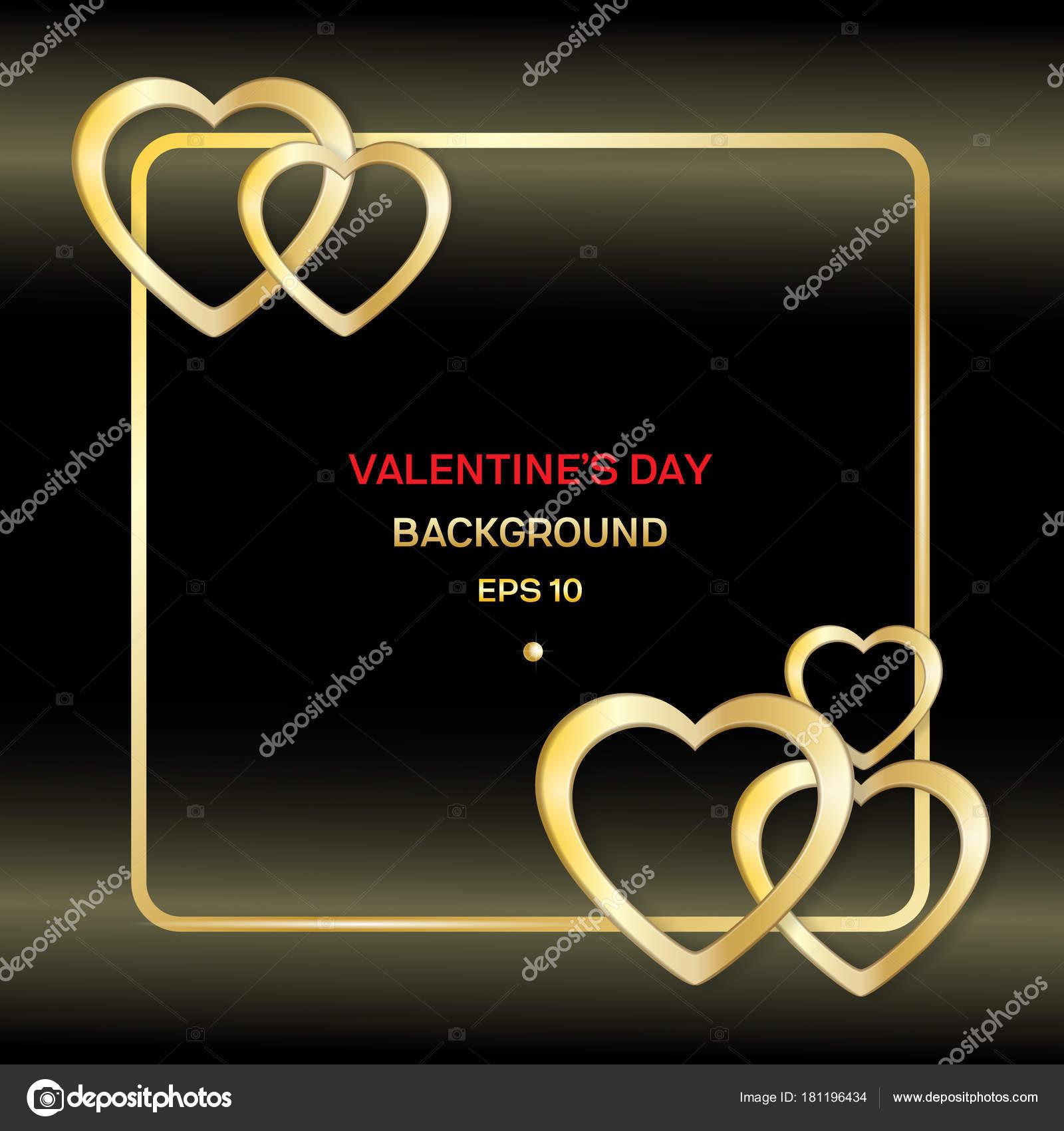 Rahmen mit Herz-Valentine-Karte — Stockvektor © danilina.olga.gmail ...