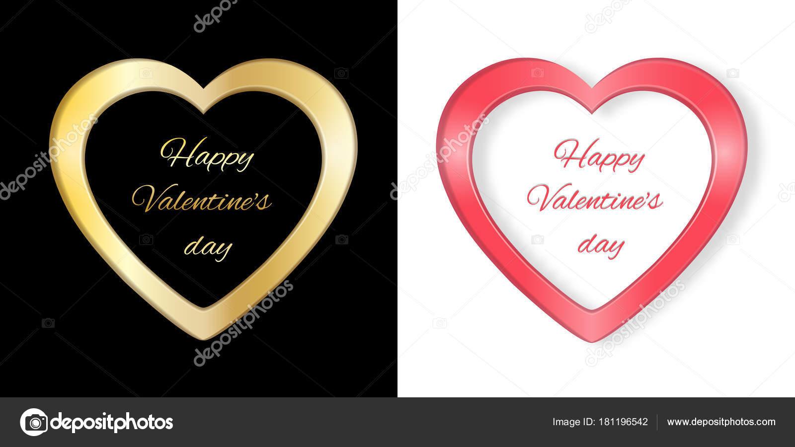 Rahmen mit Herz Valentine card3 — Stockvektor © danilina.olga.gmail ...