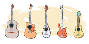 Set of Musical Instruments-01