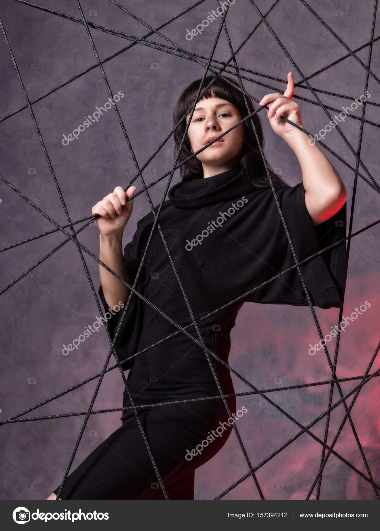 Bonito Lindo Vestidos De Dama De Negro Embellecimiento - Vestido de ...