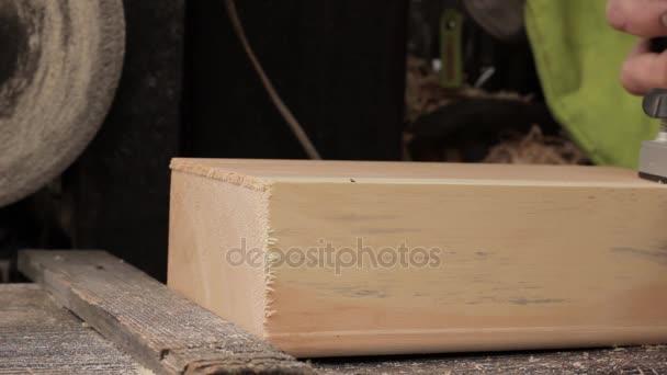 uso delloperaio lavorazione del legno macchina, casa di fresatura
