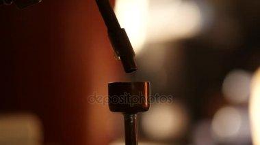 vegyi laboratóriumi eszközök. erős alkohol