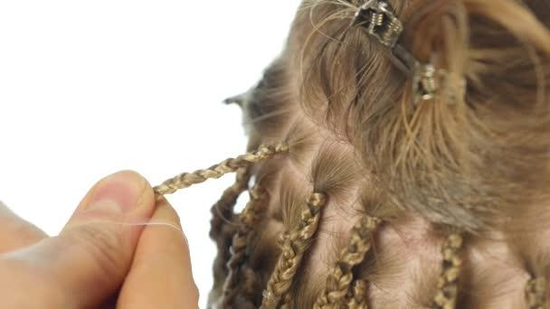 Peinados trenzas videos
