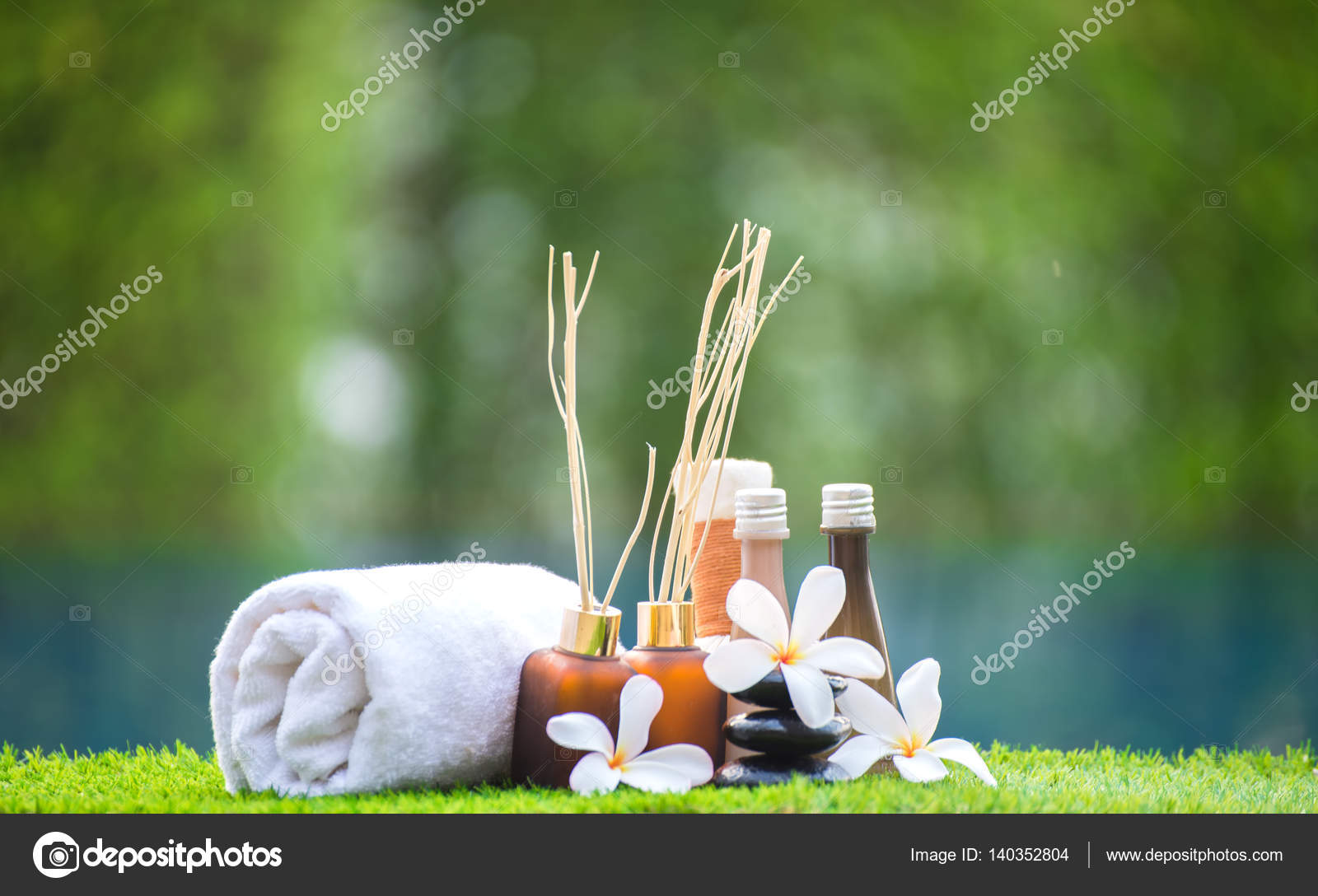 Tratamiento de spa y productos para spa manos y pies con flores y ...