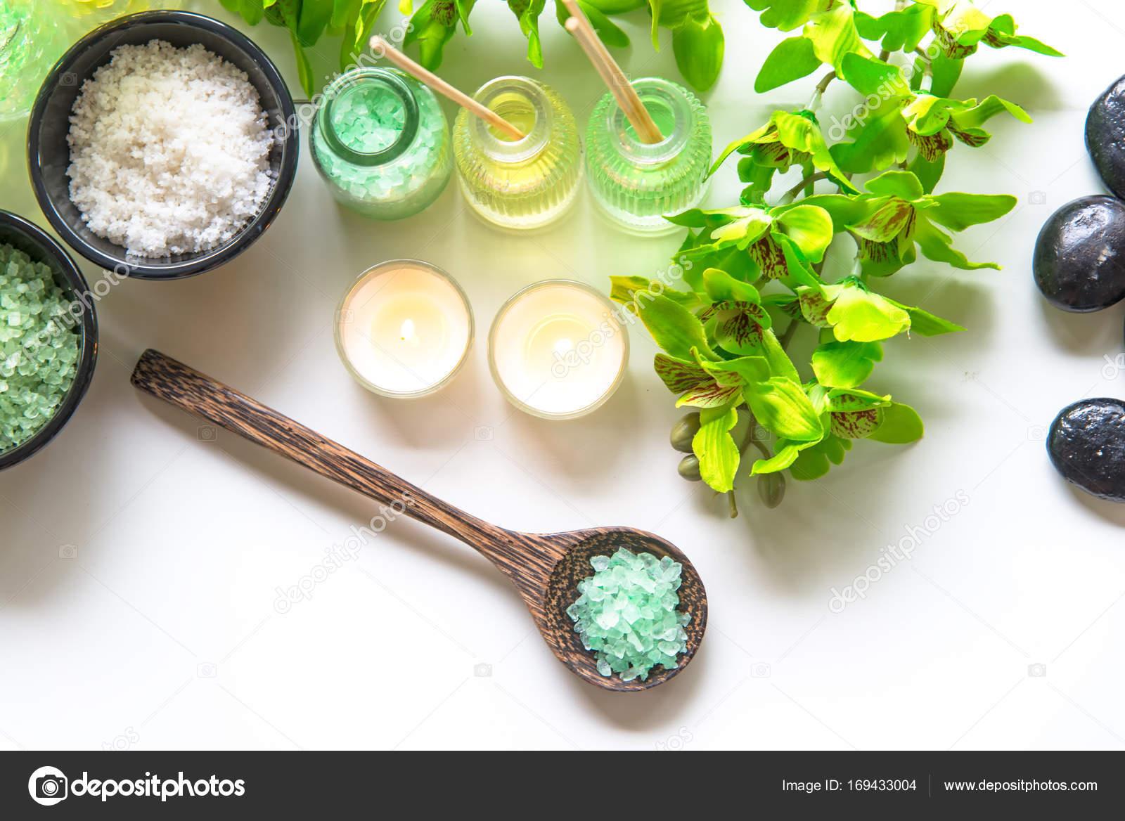 Thai Spa tratamientos aroma terapia sal y scrub de azúcar verde ...