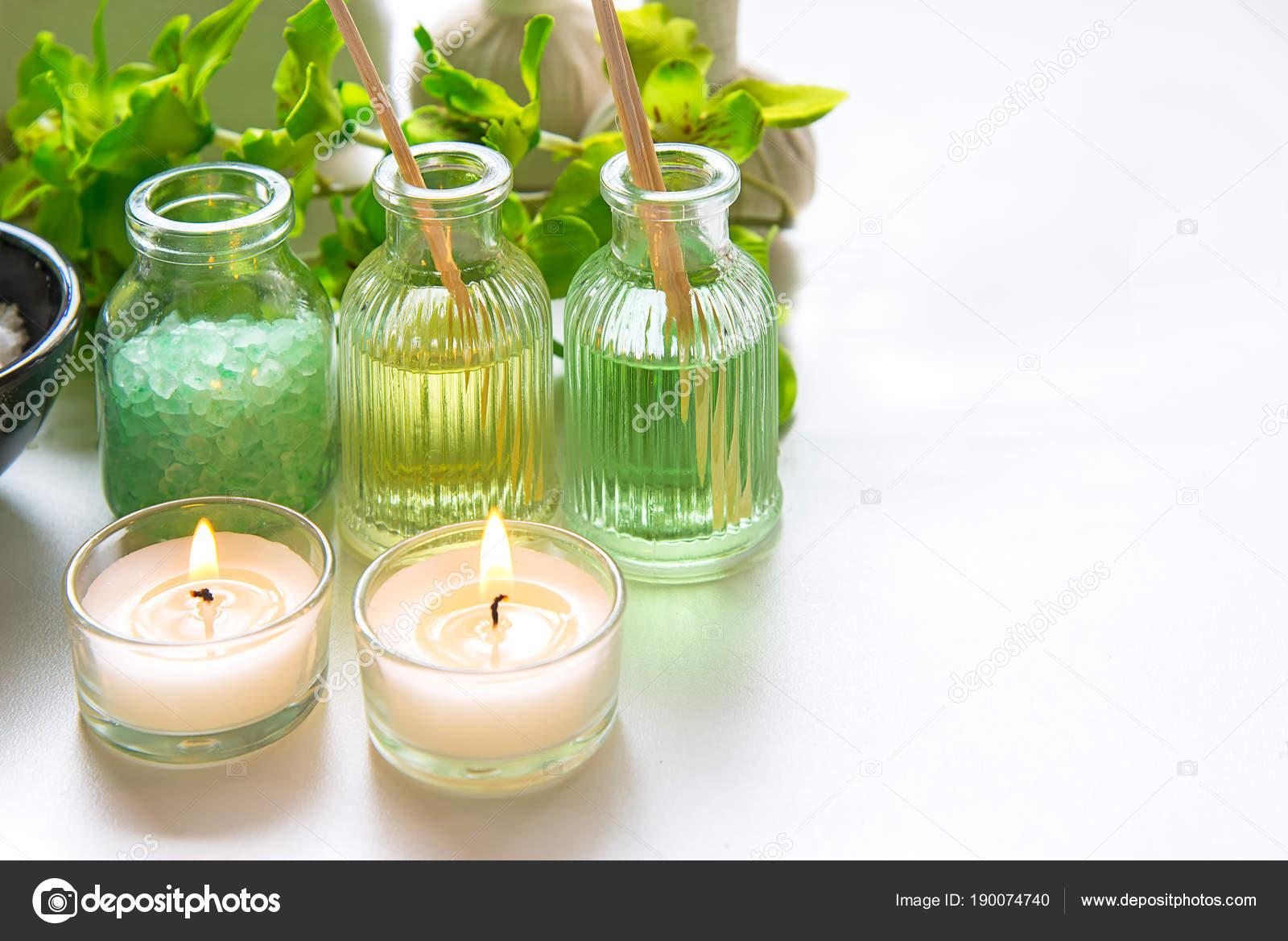 Thai Spa Tratamientos Aroma Terapia Sal Scrub Azúcar Verde ...