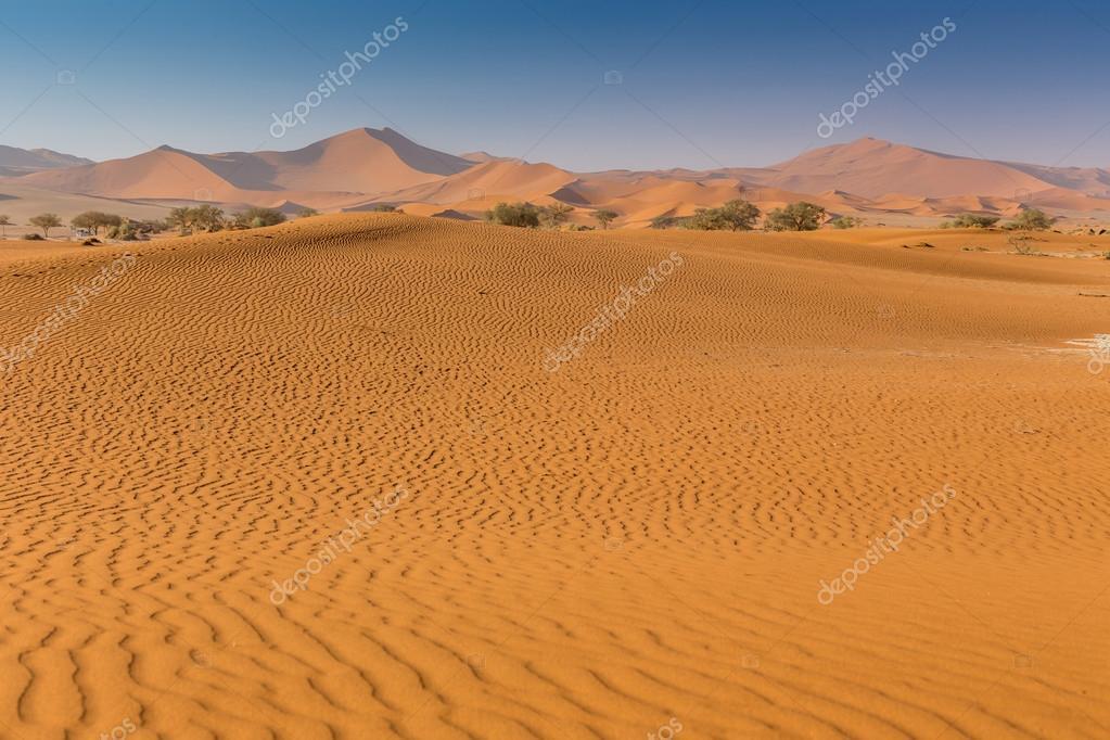Namib Desert Sossusvlei salt lake