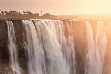 Victoria waterfall in Zimbabwe