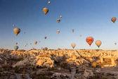 Photo Air balloons in Cappadocia, Turkey
