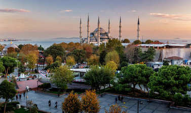 Great city of Istanbul in Turkey