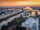 Photo Bucharest capital city of Romania