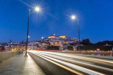 Landscape of Coimbra city in Portugal