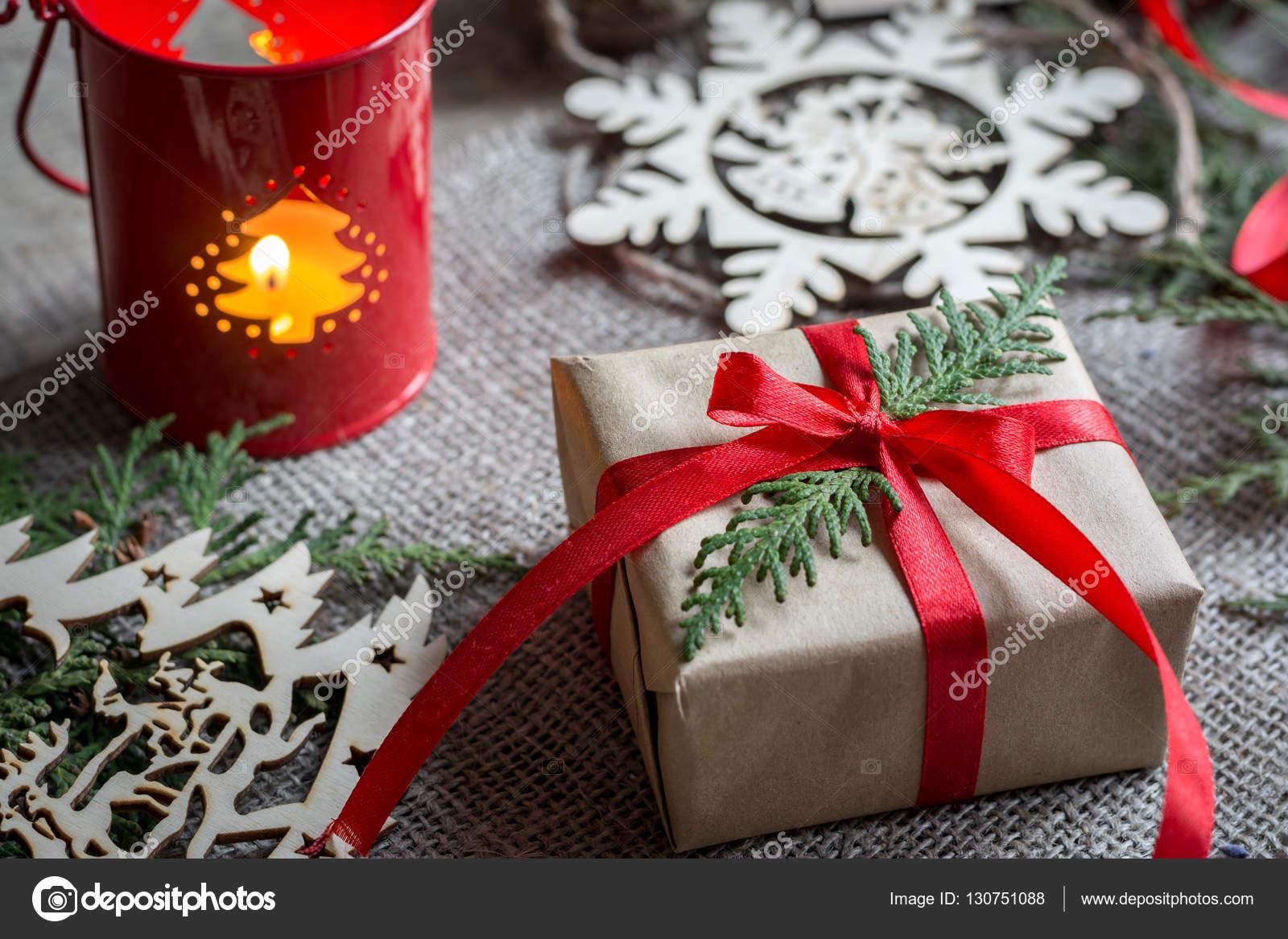 Geschenkkarton Weihnachten.Geschenkkarton Weihnachten Eingerichtet Stockfoto Vikkipix