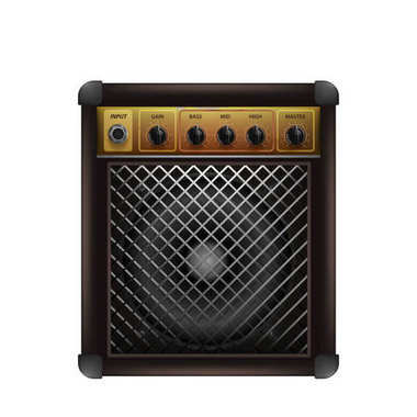 Guitar combo amplifier