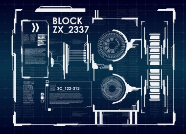Futuristic virtual graphic user interface