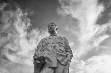 Gori, Georgia - September 26, 2017: Monument to the Soviet leader Josef Stalin