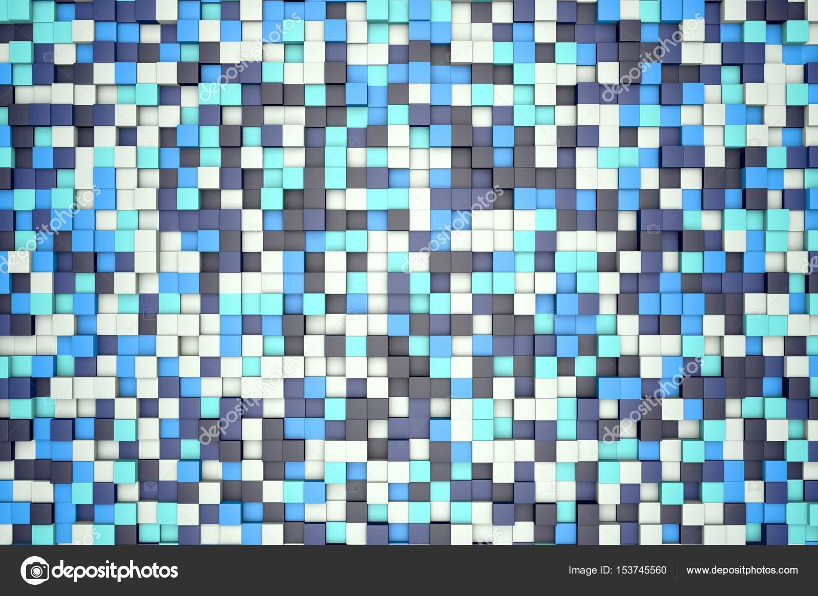 Ilustracin 3D antecedentes bloques blancos claros y oscuros