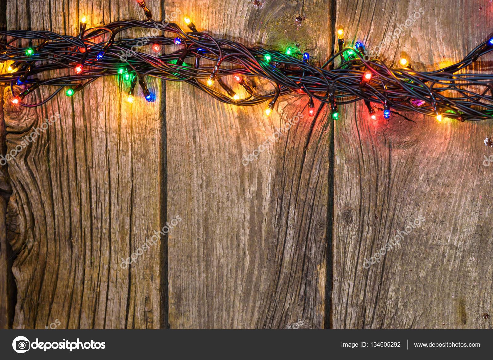 Weihnachten-rustikal-Hintergrund - Beplankung Jahrgang Holz mit ...
