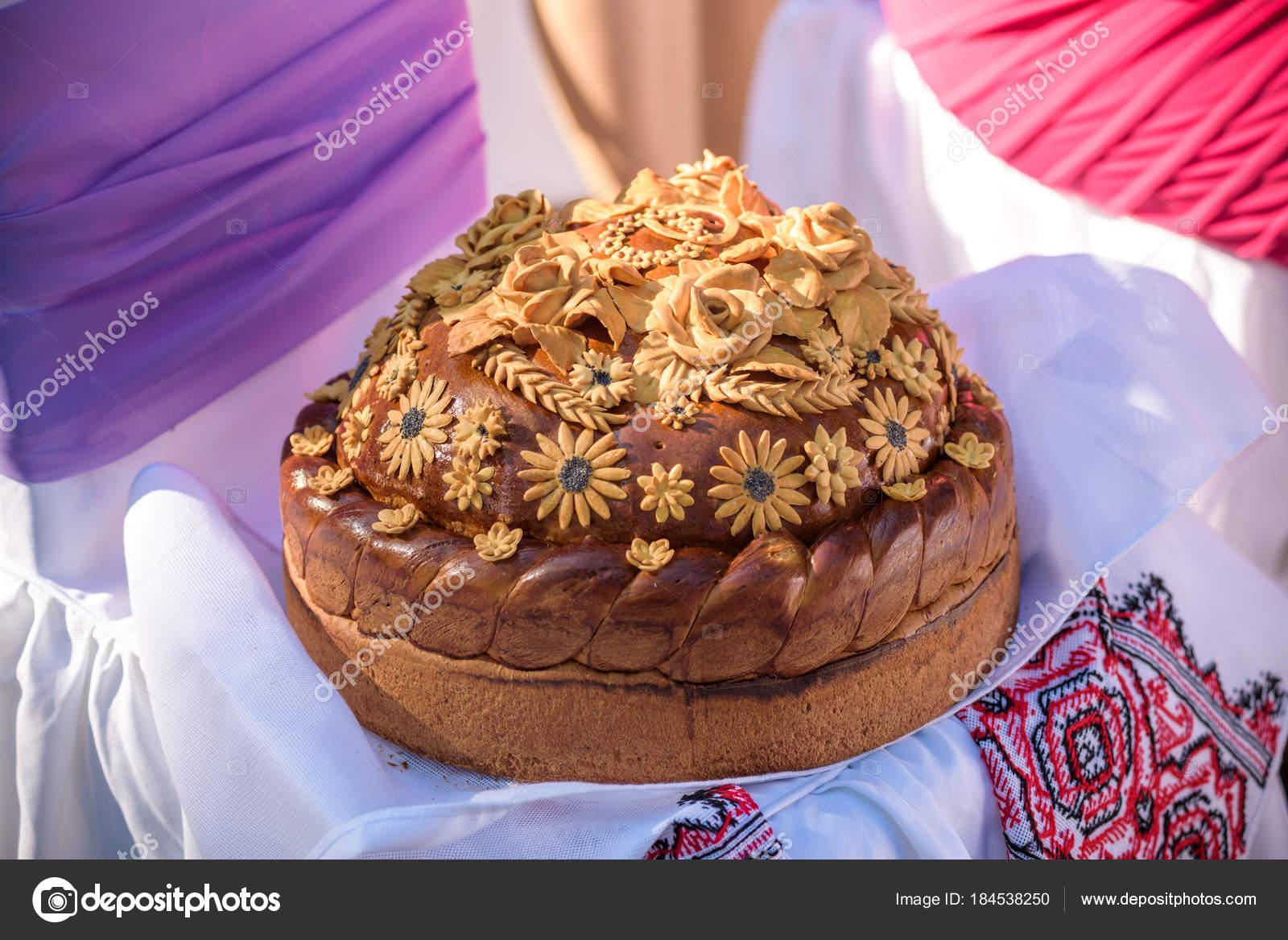 Хлеб с цветами фото