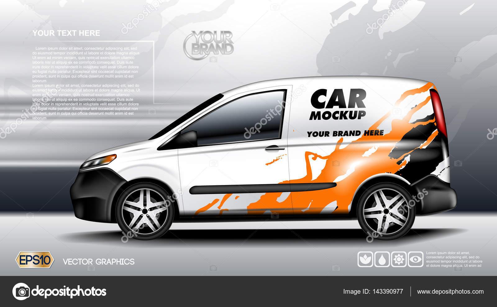 digital blanco vehículo realista coche Maquetado, listo para su ...